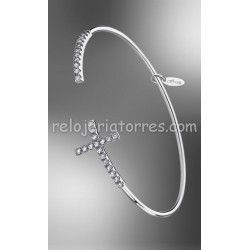 PULSERA LOTUS SILVER CRUZ LP1573/2/1