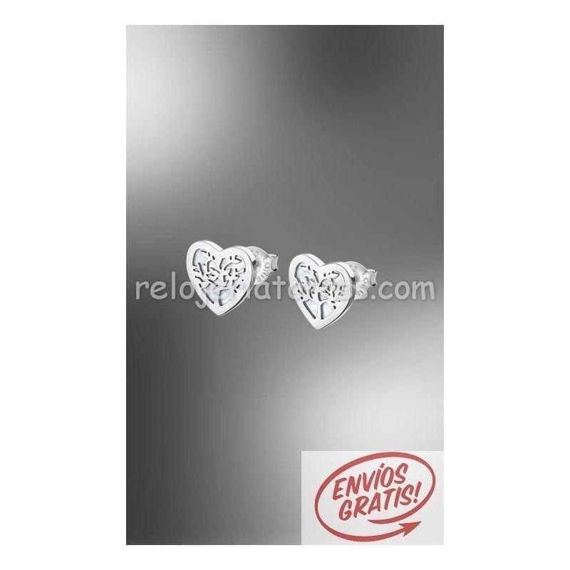 77573a9b70b1 Pendientes árbol de la vida corazón Lotus Silver LP1820 4 1