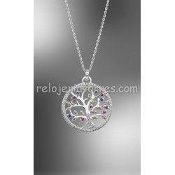 cc86dbf8a13a Colgante Lotus Silver árbol de la vida LP1896 1 1 circonitas de colores