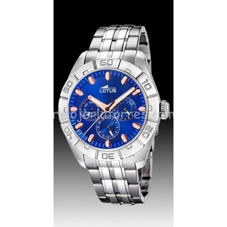 Reloj Lotus de hombre 15814/B acero multifunción