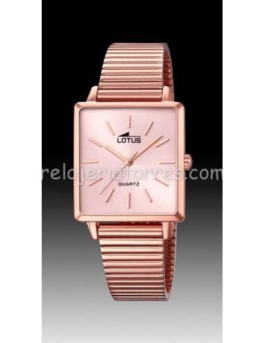 Reloj Lotus rosado de mujer 18717/1...